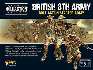British 8th Army Starter 28mm