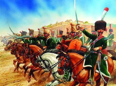French Napoleonic Line Chasseurs a Cheval 1808-1815 28mm – Bild 1