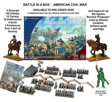Battle in a Box American Civil War 1861-1865 28mm – Bild 2