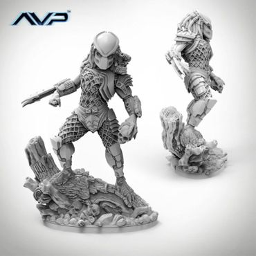 AVP Predator Jungle Hunter Statue 150mm – Bild 2