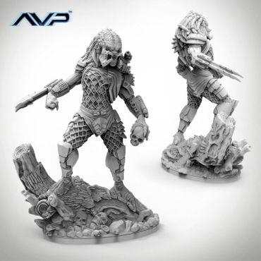 AVP Predator Jungle Hunter Statue 150mm