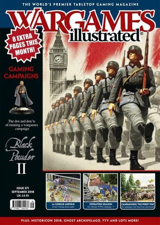 Wargames Illustrated 371 September 2018 (Englisch)