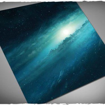Deep Cut Studio Wargames Terrain Mat Supernova 3x3