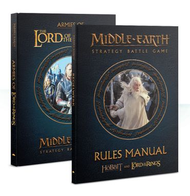 Middle Earth Regelbuch + Armeen aus Herr der Ringe (Deutsch) Bundle