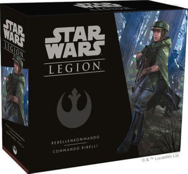 Star Wars Legion Rebellenkommando Erweiterung (Deutsch/Italienisch) – Bild 1