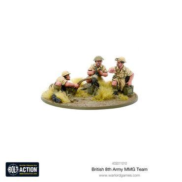 British 8th Army MMG Team 28mm – Bild 2