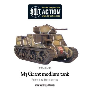 M3 Grant Medium Tank Western Desert 28mm – Bild 2
