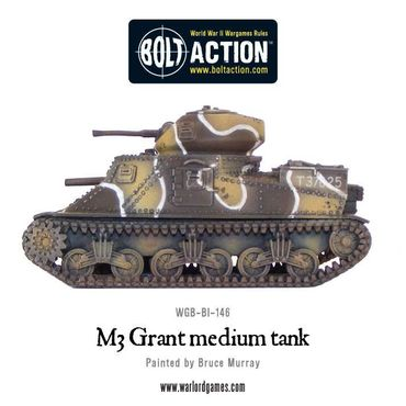 M3 Grant Medium Tank Western Desert 28mm – Bild 3