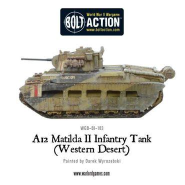 A12 Matilda II Infantry Tank Western Desert 28mm – Bild 4