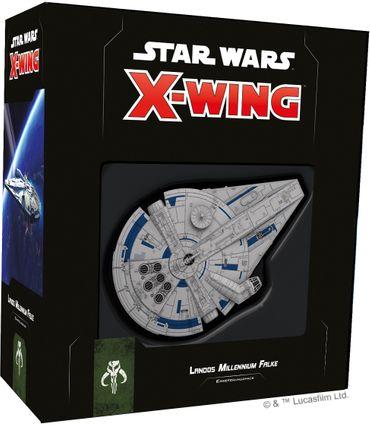Star Wars X-Wing Landos Millennium Falke 2 Edition Erweiterung (Deutsch)