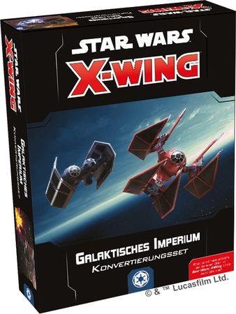 Star Wars X-Wing Galaktisches Imperium Konvertierungsset 2 Edition (Deutsch)