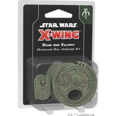 Star Wars X-Wing Scum and Villainy Maneuver Dial Upgrade Kit (Manöverräder Upgrade Kit)