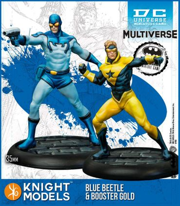 Blue Beetle and Booster Gold Multiverse 35mm