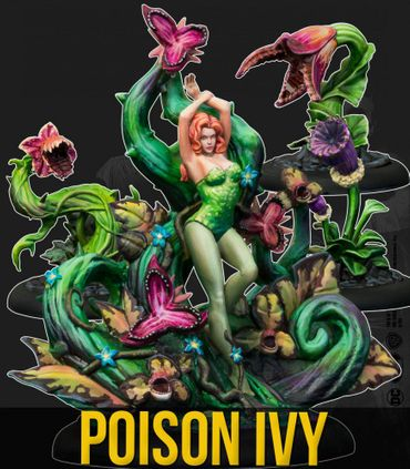 Poison Ivy and Plants (Comic Version) Multiverse 35mm
