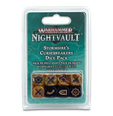Warhammer Underworlds Stormsire's Cursebreakers Dice