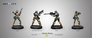 Yu Jing Celestial Guards Pack