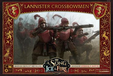 A Song Of Ice And Fire Lannister Crossbowmen (Englisch)