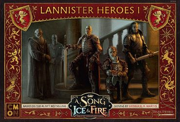 A Song Of Ice And Fire Lannister Heroes 1 (Englisch)
