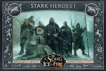 A Song Of Ice And Fire Stark Heroes 1 (Englisch)