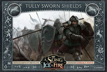 A Song Of Ice And Fire Tully Sworn Shields (Englisch)