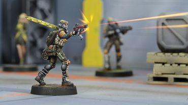 Mercs Cube Jägers, Mercenary Recoverers (Submachine Gun) – Bild 4