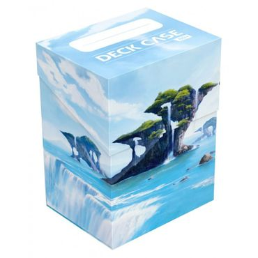 Basic Deck Case Standardgröße 80+ Lands Edition Insel