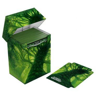 Basic Deck Case Standardgröße 80+ Lands Edition Wald – Bild 3