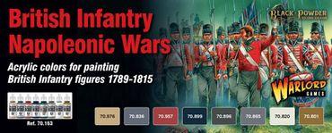 Model Color British Infantry Napoleonic Paint Set (8)