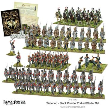 Black Powder Waterloo 2nd Edition Starter Set (Englisch)