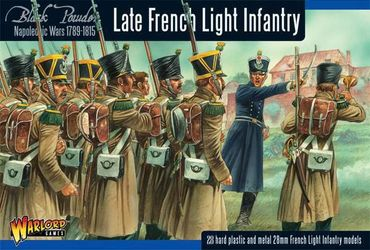 Napoleonic Late French Light Infantry 28mm