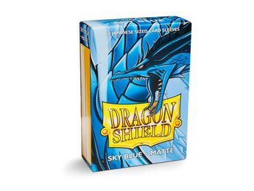 Dragon Shield Japanese Matte Sky Blue 60 protective Sleeves