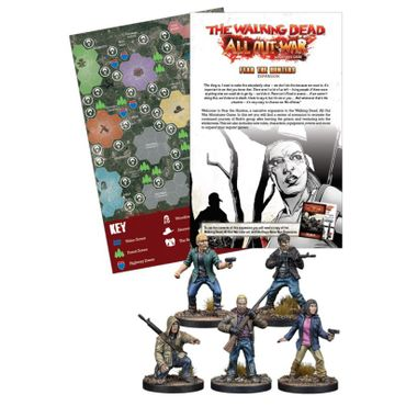 The Walking Dead Fear the Hunters Expansion (Englisch) All Out War