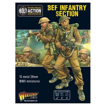BEF Infantry Section 28mm