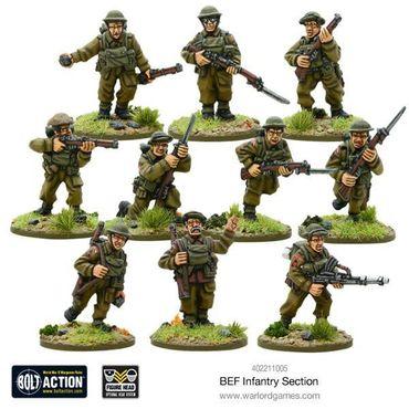 BEF Infantry Section 28mm – Bild 2