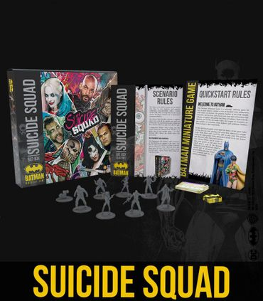 Bat Box Suicide Squad 35mm – Bild 1