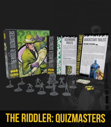 Bat Box The Riddler Quizmasters 35mm – Bild 1
