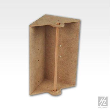 Eck Papiertuch Abroller Modul (Corner Paper Towel Module) MWS