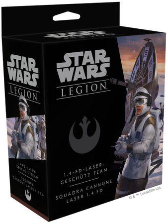 Star Wars Legion 1.4-FD Lasergeschütz Team Erweiterung (Deutsch/Italienisch) – Bild 1