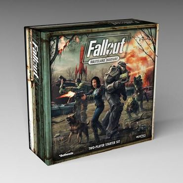 Fallout Wasteland Warfare Two Player Starter Set (Englisch)