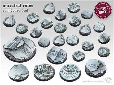 Ancestral Ruins Starter Deal Rundbases (20-5-1)