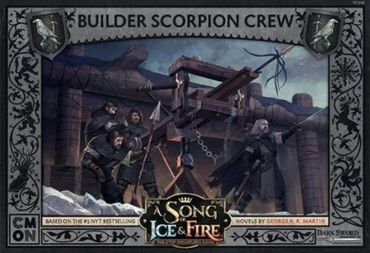 A Song Of Ice And Fire Night's Watch Builder Scorpion Crew (Englisch)