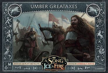 A Song Of Ice And Fire Stark Umber Greataxes (Englisch)
