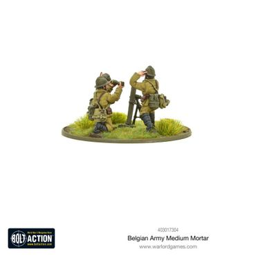 Belgian Army Medium Mortar 28mm – Bild 2