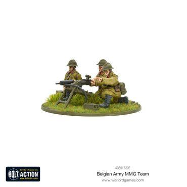 Belgian Army MMG Team 28mm – Bild 2