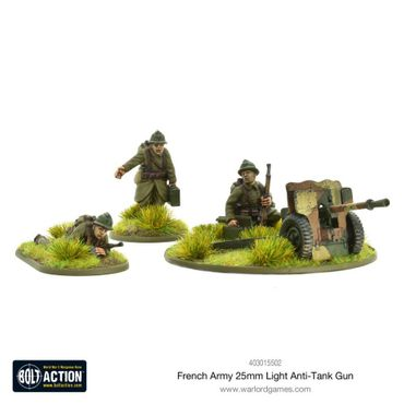 French Army 25mm Light Anti-Tank Gun 28mm – Bild 1