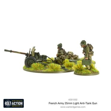 French Army 47mm Medium Anti-Tank Gun 28mm – Bild 4