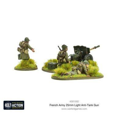 French Army 47mm Medium Anti-Tank Gun 28mm – Bild 2