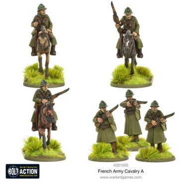 French Army Cavalry A 28mm – Bild 1