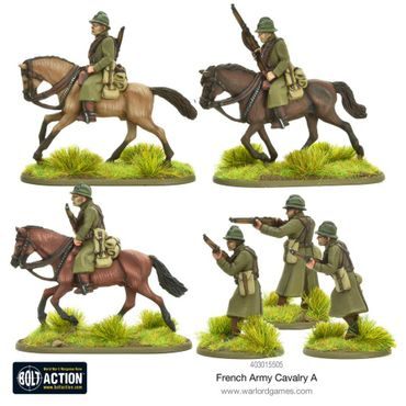 French Army Cavalry A 28mm – Bild 3