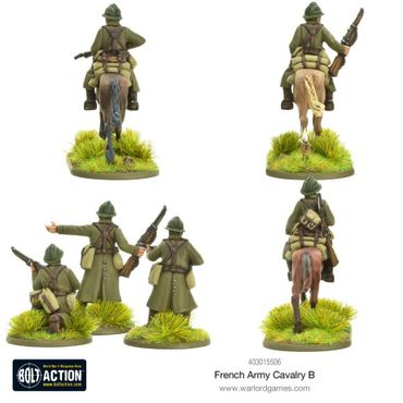 French Army Cavalry B 28mm – Bild 2